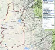 American River Basin Stormwater Resource Plan Web Map